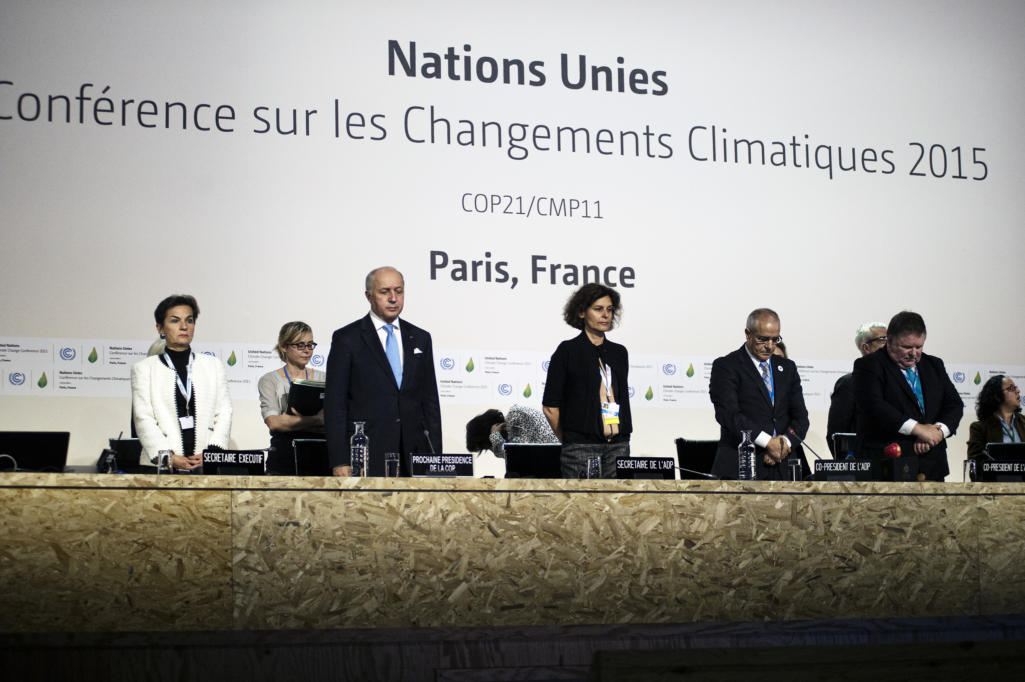Opening of COP 21 on 29 November 2015. Photo: Benjamin Géminel via Flickr