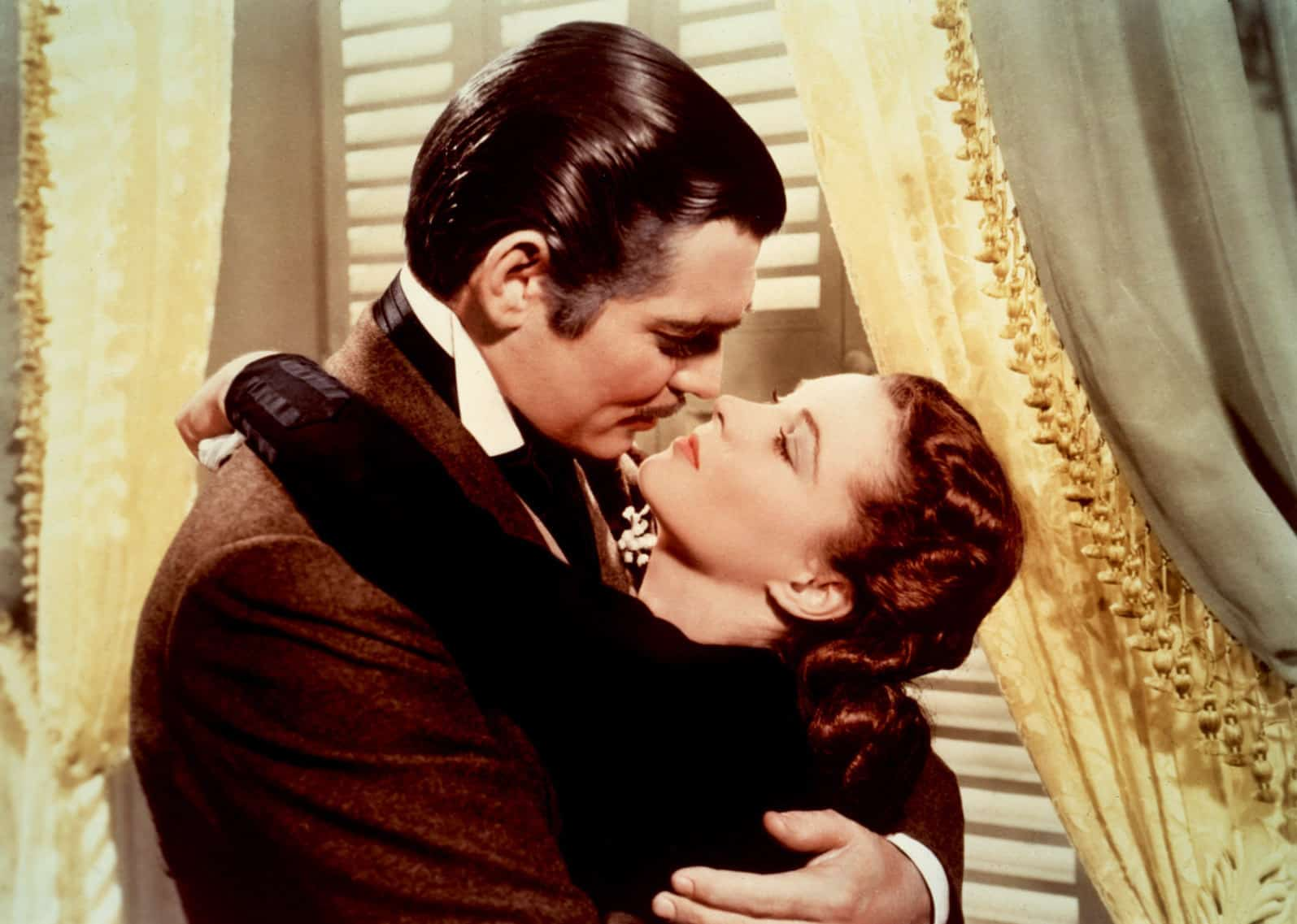 Clark Gable and Vivien Leigh in