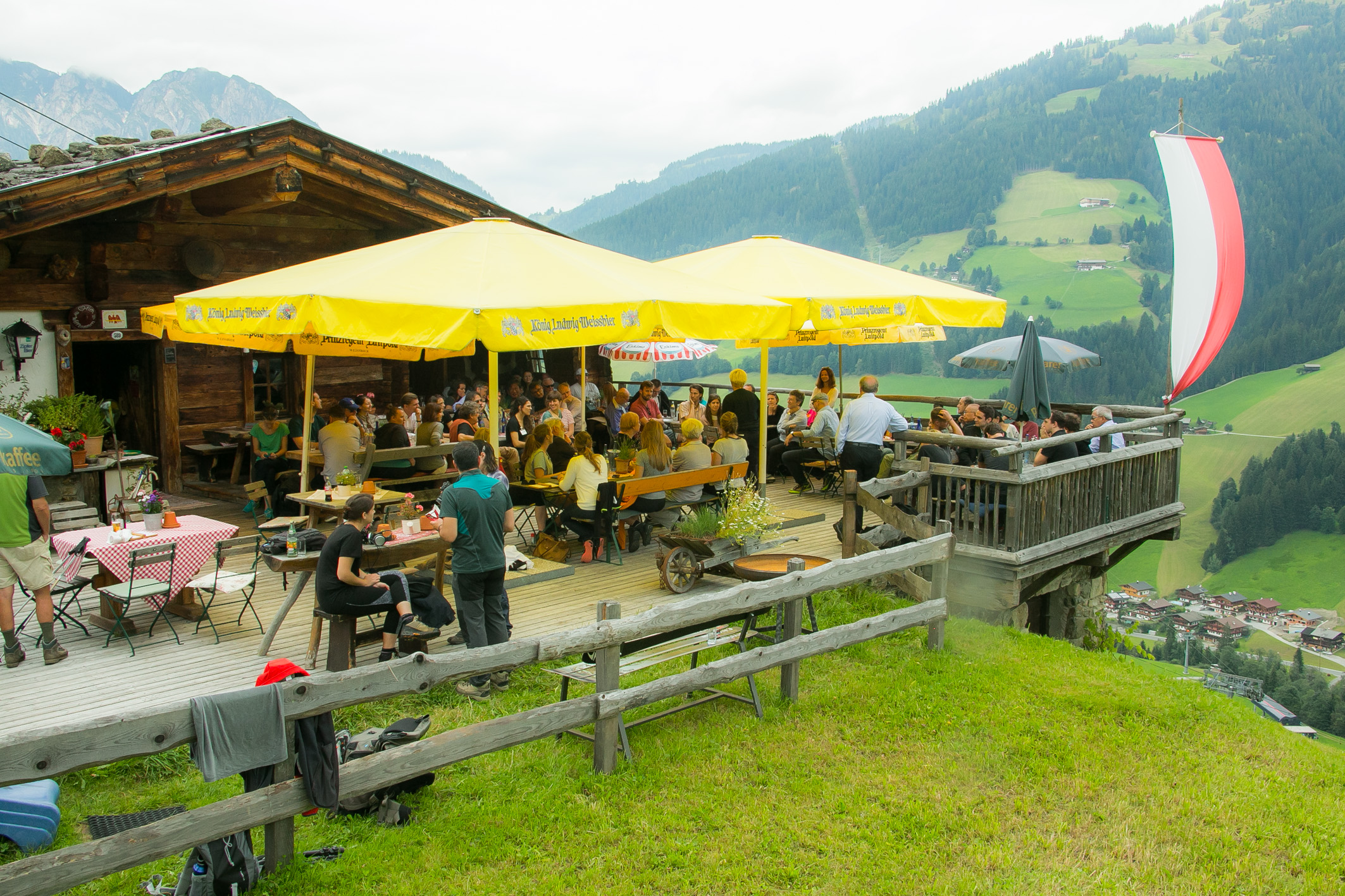 Meeting of the Alpbach-Laxenburg Group, 29 August 2016. ©Matthias Silveri | IIASA