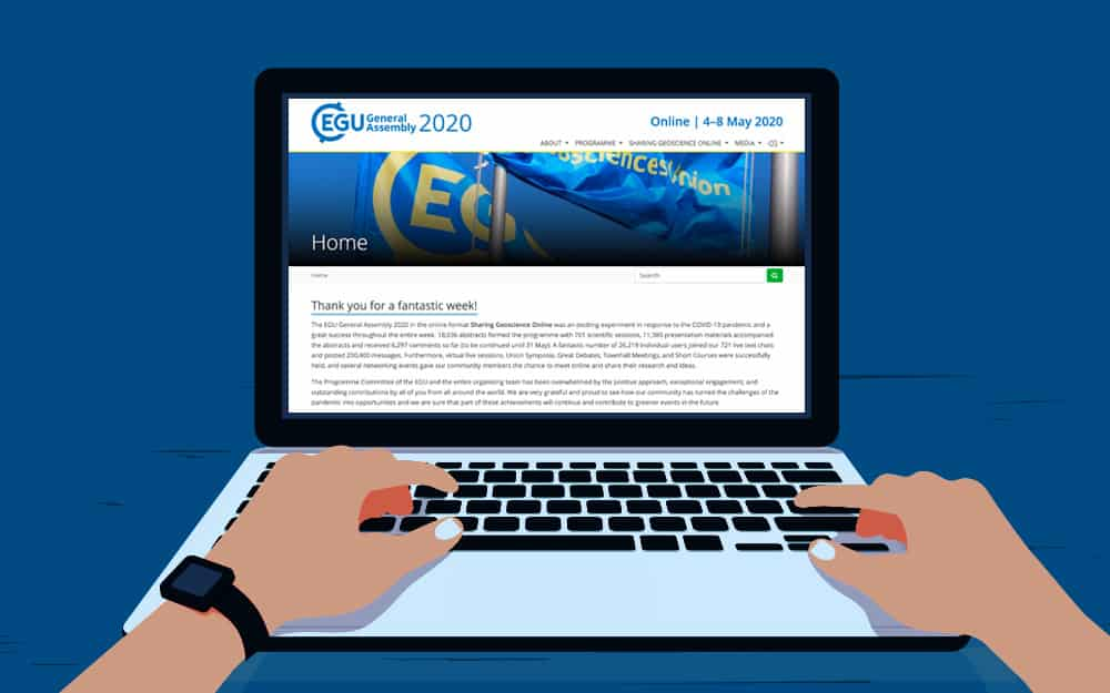 EGU2020 – a virtual experience of a first-time conference visit