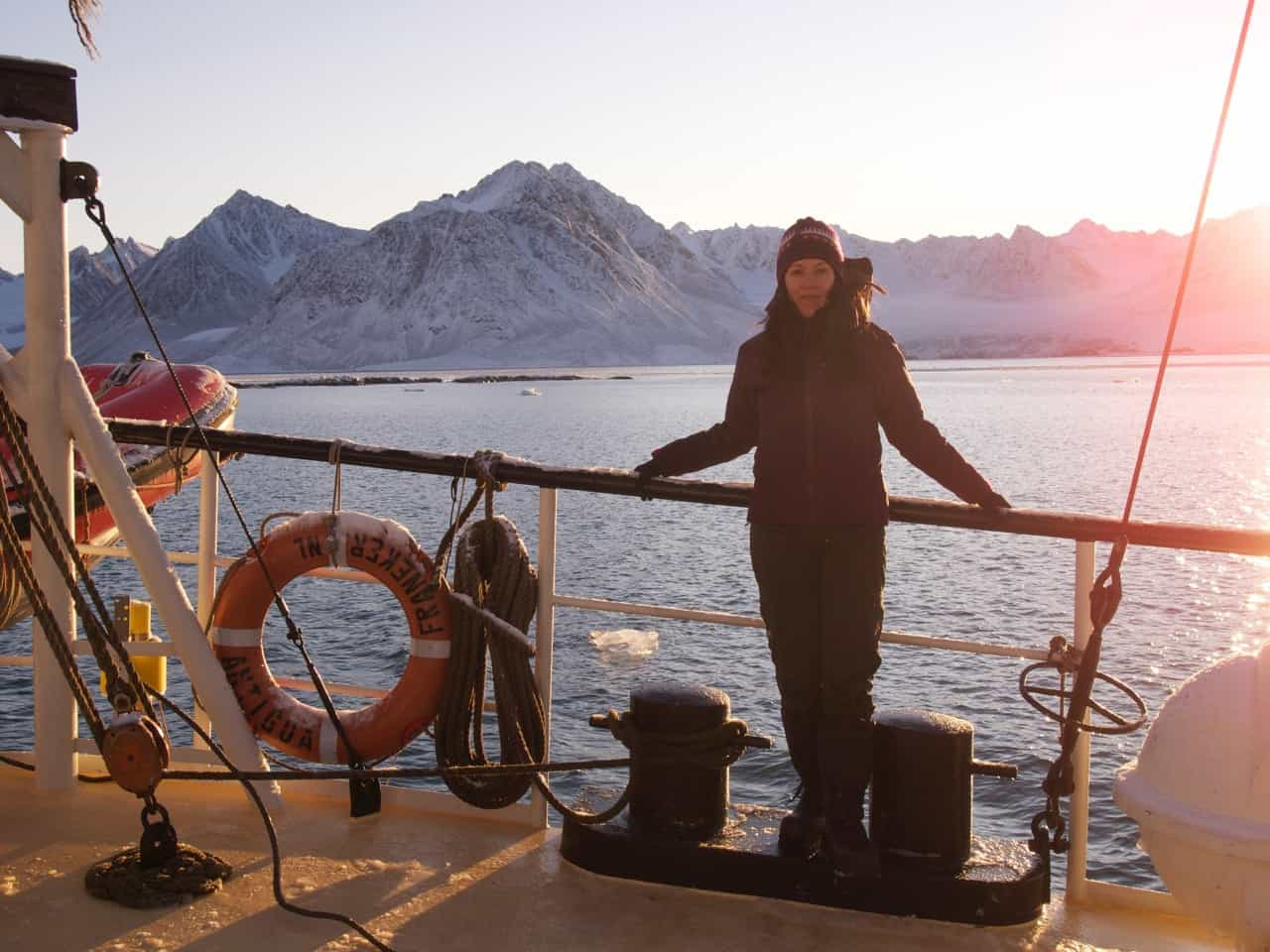 Playrwright Chantal Bilodeau is working on a series of plays about the impact of climate change on the eight countries of the Arctic