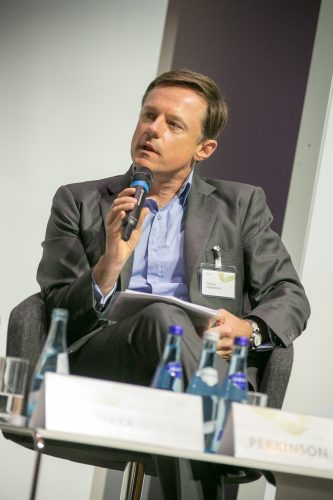 Michael Perkinson speaks at the European Forum Alpbach. ©Matthias Silveri | IIASA