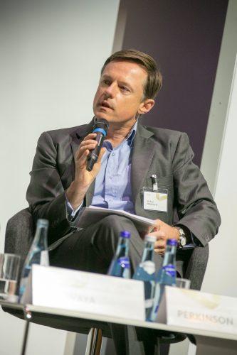 Michael Perkinson speaks at the European Forum Alpbach. ©Matthias Silveri | IIASA