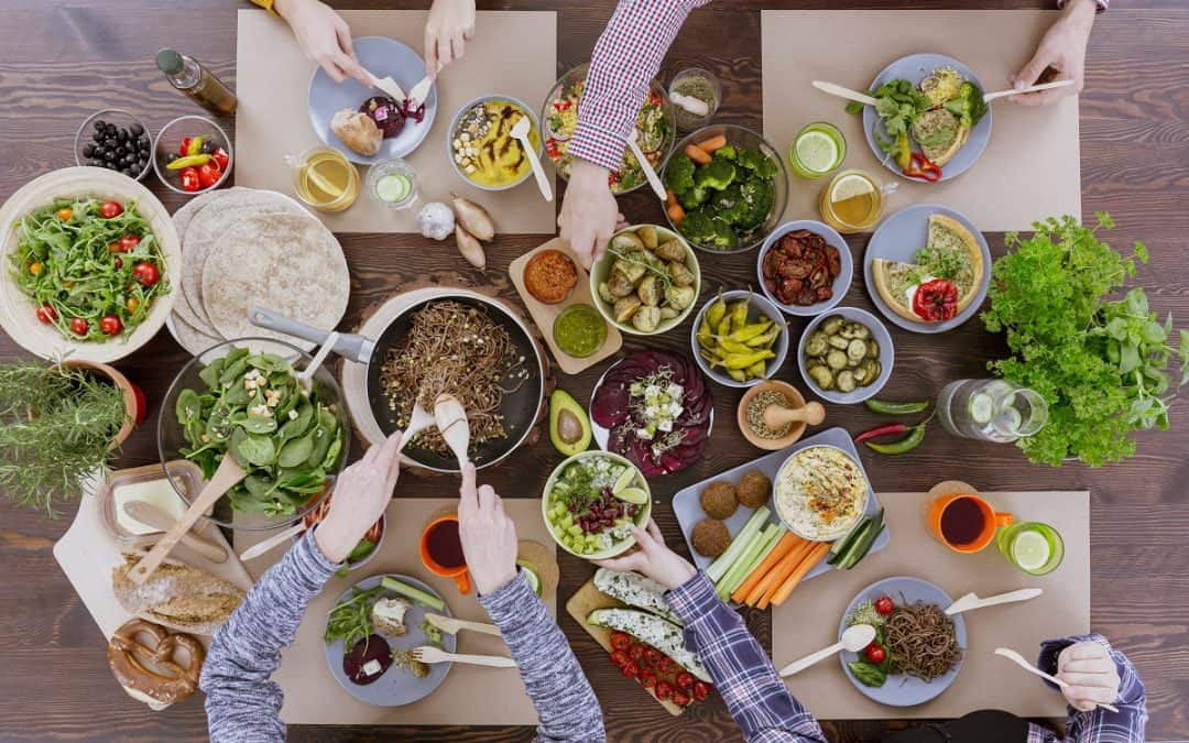 Eat healthy and sustainably, don't leave yourself behind