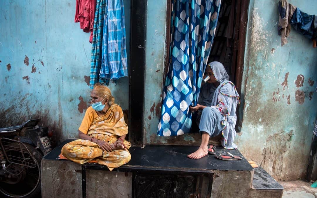 How has the COVID-19 pandemic affected the urban poor?
