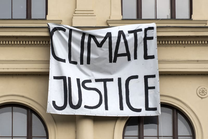 Addressing the youth's climate justice concerns