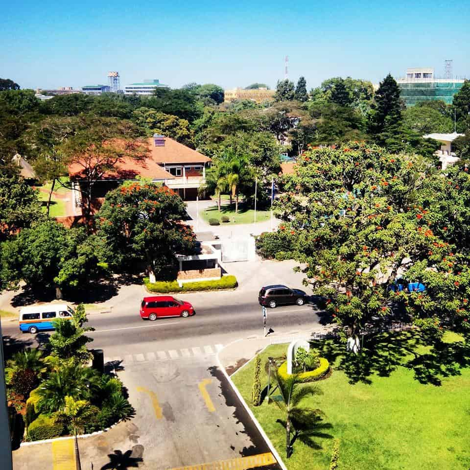 Resilient urban forms are spatially designed to support social and ecological diversity, such as preserving and managing urban greenery Photo Credit: Image of Lusaka, Zambia, posted on #BeautifulLusaka Facebook Page