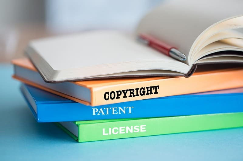 Intellectual property rights, copyrights, and open licenses